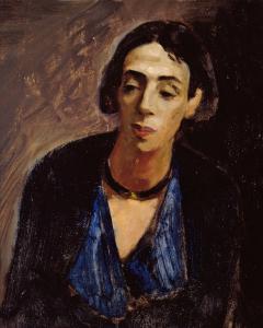 Sjollema portret van Maria Petrelli