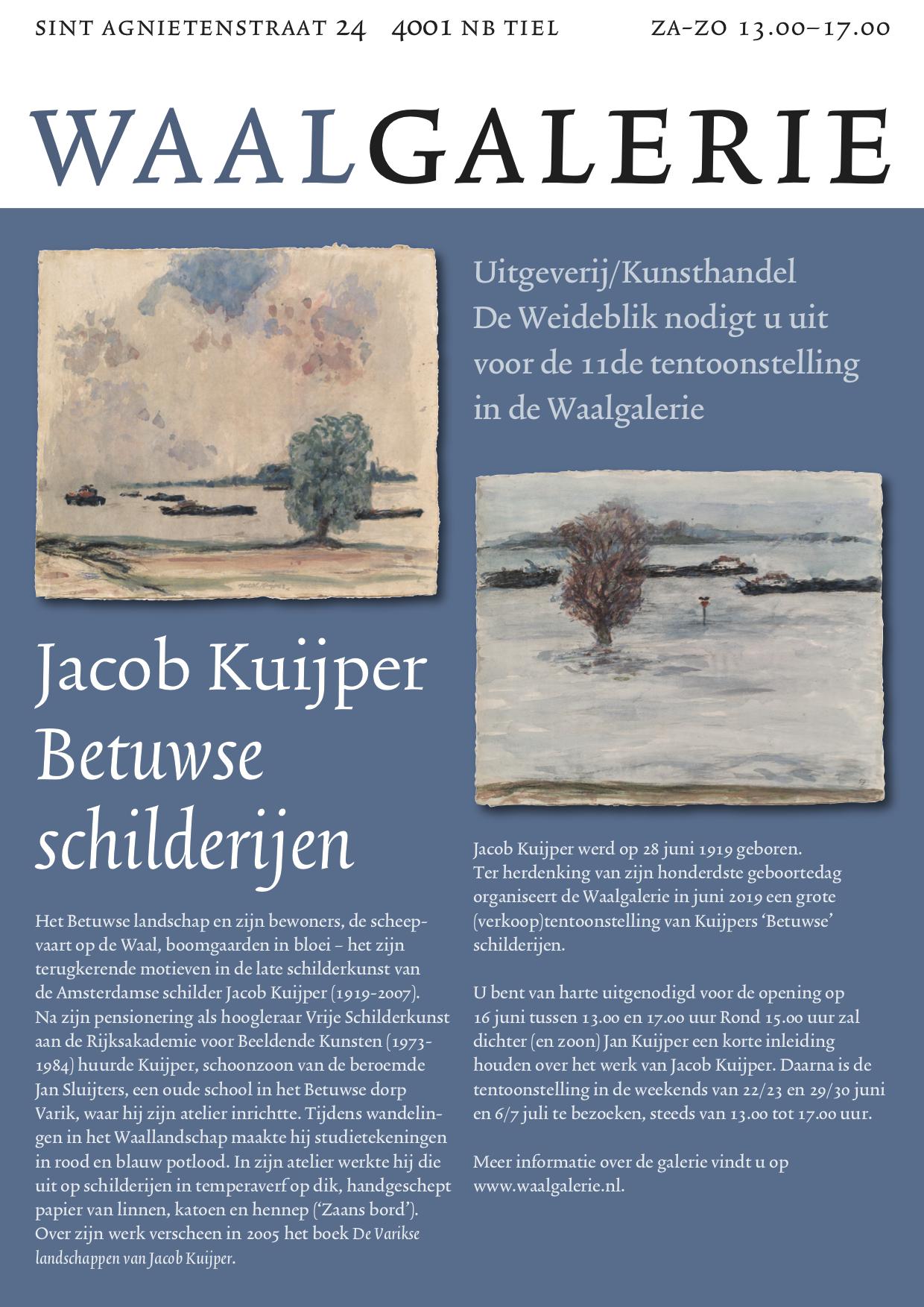 Uitnodiging Kuijper juni 2019